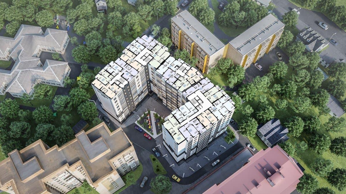 Генплан: Планування квартир