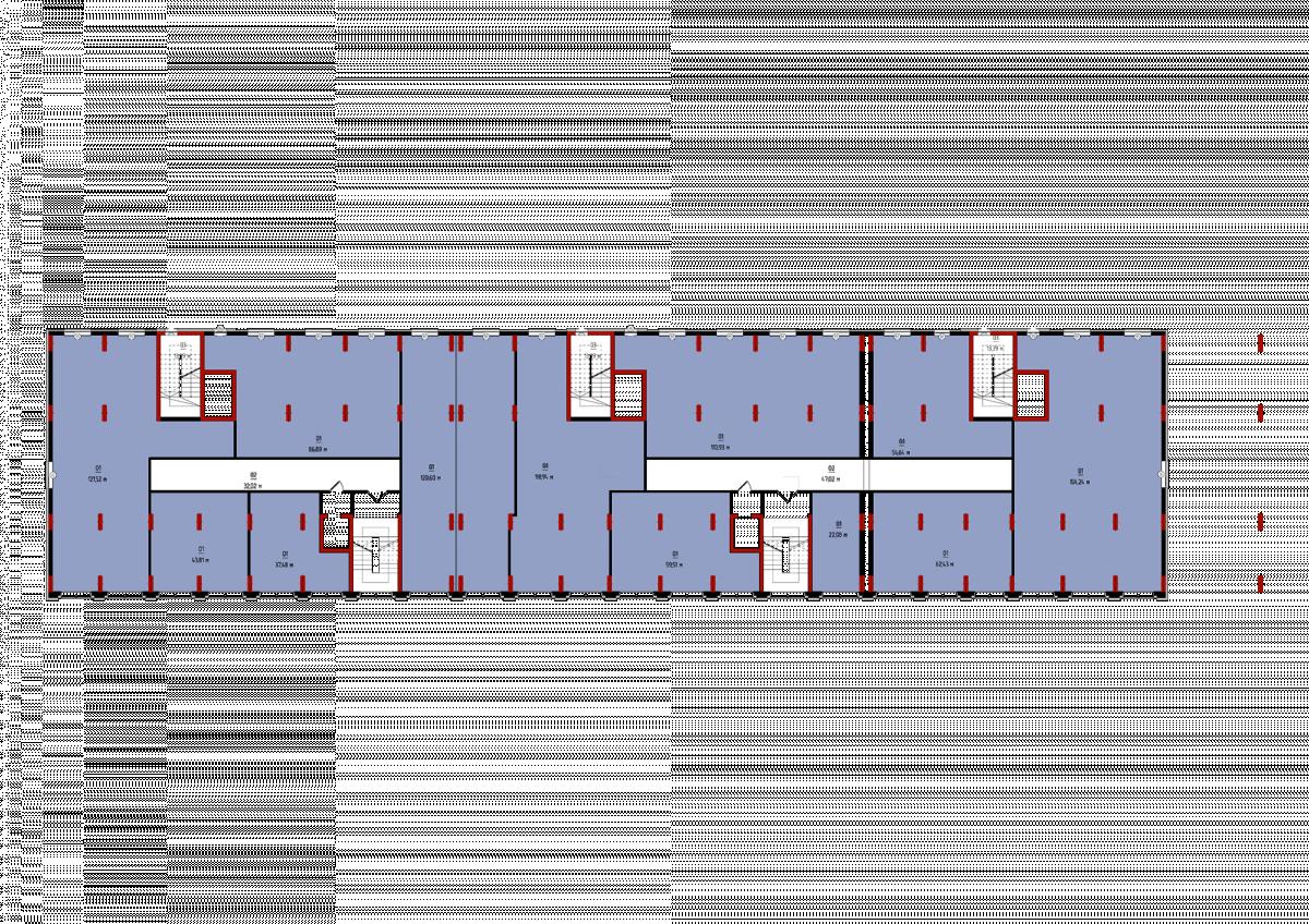 План 2-го гром поверху: Планування квартир