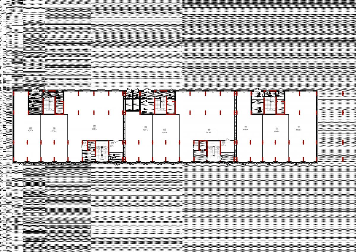 План 1-го гром поверху: Планування квартир