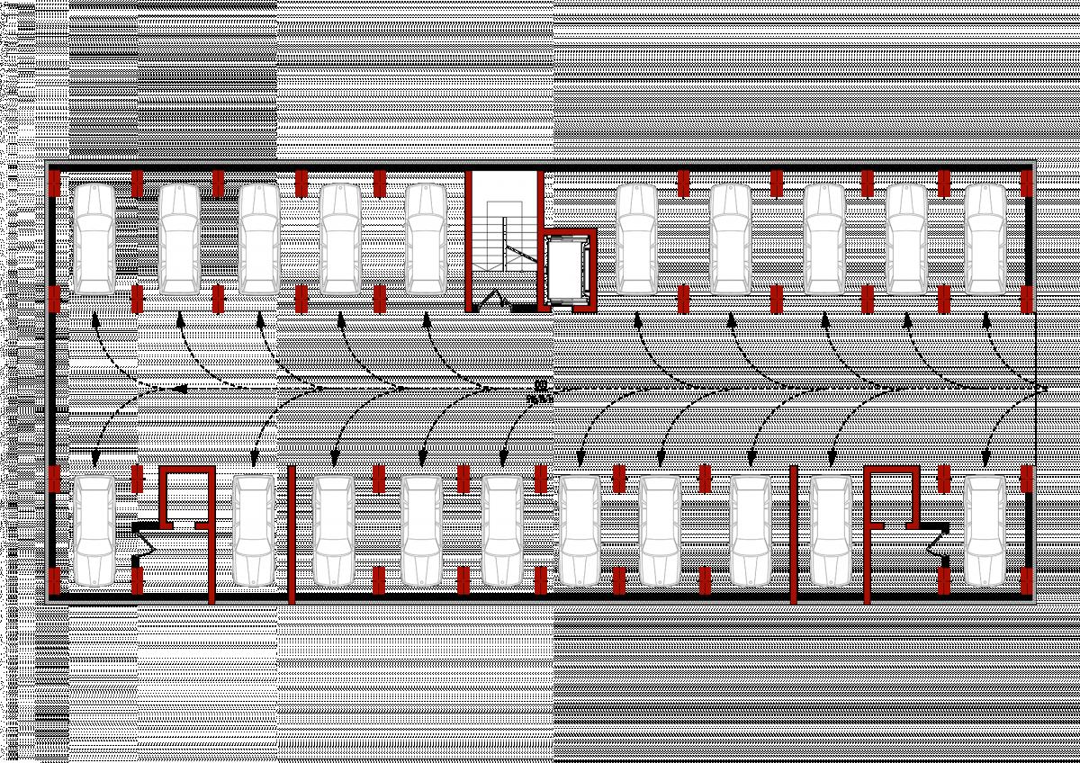 Паркінг (4 секціія): Планування квартир